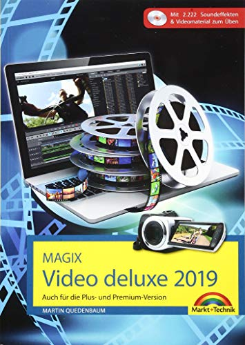 MAGIX Video deluxe 2019 Das Buch...