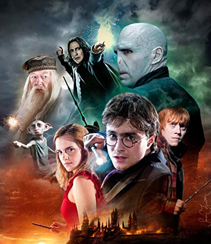 clasificación y comparación 5D DIY diamante pintura diamante pintura por números Harry Potter Voldemort para adultos … para casa