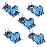 ARCELI DC0-25V Terminale sensore Tester di Tensione per Arduino Raspberry Pi (Confezione da 5 Pezzi), Misurare Fino a 25 V