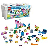 LEGO Unikitty - Caja de Ladrillos Creativos del Unireino, Juguete de Construcción con Piezas y 16 Muñecos para Niños...