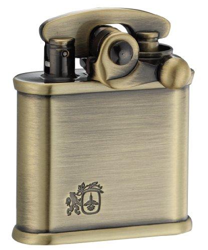 COLIBRI(コリブリ) オイルライター フリント式 日本製 ブラス 古美 ライオン 308-0010