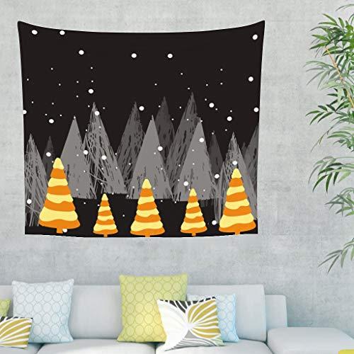 Charzee Wandtapijt voor Kerstmis, wandtapijt, doek, picknic, strandlaken, yogamat, decoratie voor interieurdecoratie