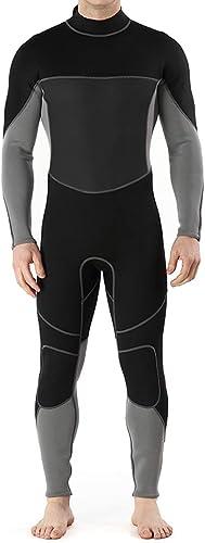 KERVINFENDRIYUN YY4 Combinaison de plongée Maillots de Bain pour Hommes Plongée Cool Isolation Excellente épaisseur Sweat Exhaust Rapid Guard manche longue