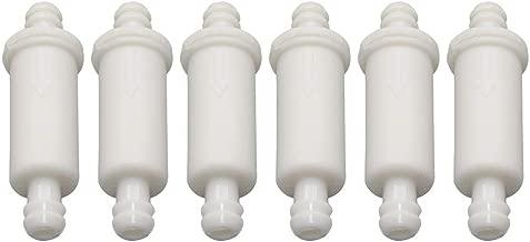 6pcs 1/4 Inline Fuel Filter Oil Injection Filter 414-5365-00 for Ski-Doo MXZ 700 Trail Sport Renegade Adrenaline 2000-2003