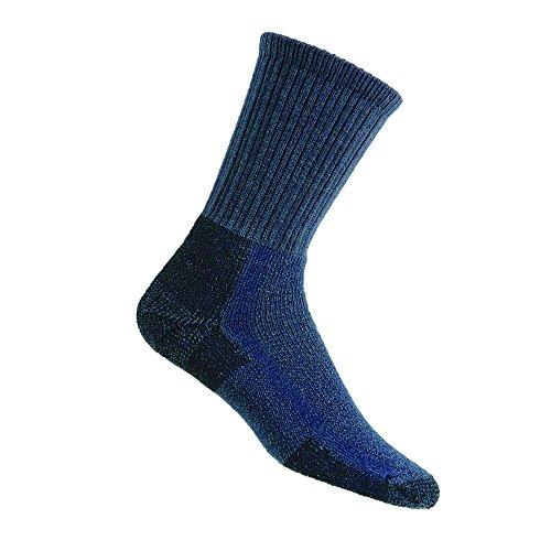 Thorlo Hiking Chaussettes de randonnée Bleu Gris Taille L, Noir foncé, Grand Mixte