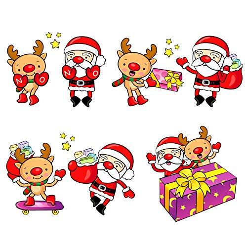 2018 Kerstmis Clear Stempel en Sterft Rubber Postzegels voor Kaart maken Scrapbooking Kerstman Herten Cadeaus Wax Seal, Clear Postzegels, China