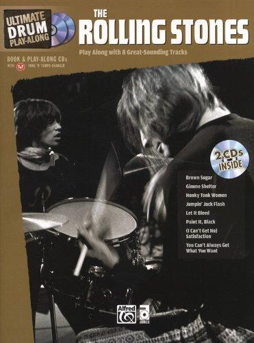 Ultimate Drum Play-Along: Rolling Stones. Für Schlagzeug