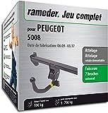 Rameder Attelage rotule démontable pour Peugeot 5008 + Faisceau 7 Broches (130380-08182-1-FR)