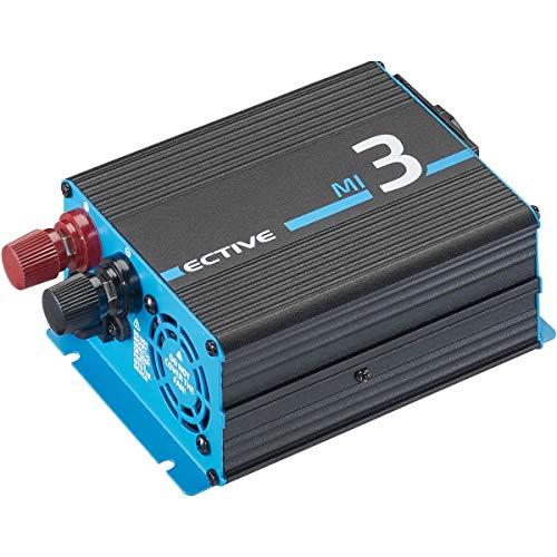 ECTIVE 300W Wechselrichter 12V zu 230V Spannungswandler mit modifizierter Sinuswelle MI 3 in 7 Varianten: 300W - 3000W