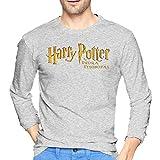 ブルームン Tシャツ 長袖 ハリーポッター Harry Potter トレーナー シャツ 上着 ファッション カットソー Xl Gray 綿 メンズ レディース