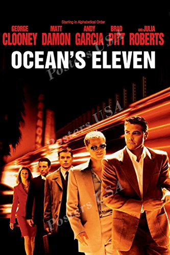 Posters USA - Ocean's Eleven 11 Movie Poster GLOSSY FINISH - MOV317 (24' x 36' (61cm x 91.5cm))