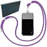 Handykette universal zum Umhängen von Smartphones - Halsband als Umhängetasche für Handys wie iPhone, Samsung, Huawei UVM. (Candy)