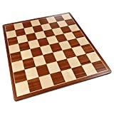Pallas Rounded Corners Chess Board with Inlaid Mahogany...