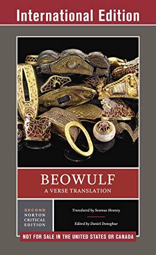 Beowulf: A Verse Translation: A Norton Critical Edition (Second Edition) (Norton Critical Editions) (English Edition)