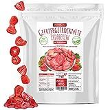 Erdbeeren gefriergetrocknet • 100g gefriergetrocknete Früchte in Scheiben • 100% natürlich und frei von Zusatzstoffen • besonders fruchtig • in Deutschland hergestellt