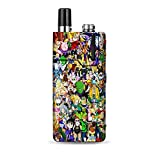 IT'S A SKIN Decal Vinyl Wrap Compatible with Lost Vape Orion Q/Anime stickerslap Sticker Bomb