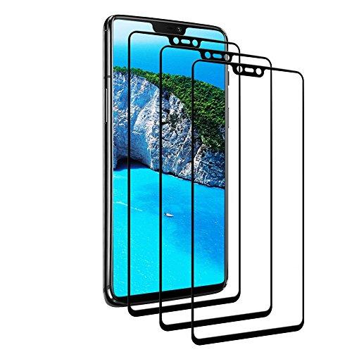 Vivicool [Lot DE 3 Verre Trempé OnePlus 6, Protection Écran OnePlus 6, Film Protection pour OnePlus 6, Ultra Résistant Indice Dureté 9H Anti Rayures - sans Bulles d'air