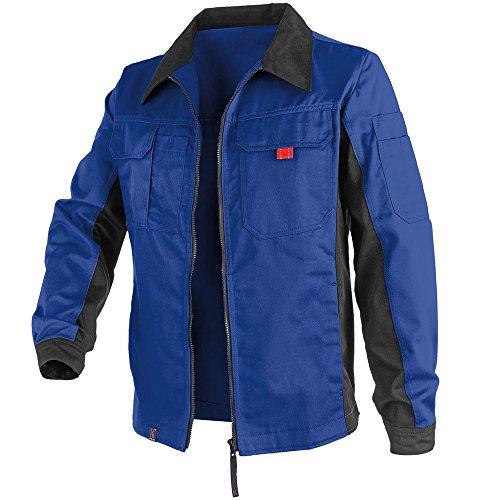 KÜBLER Workwear KÜBLER INNO Plus Arbeitsjacke blau, Größe 52, Unisex-Arbeitsjacke aus Mischgewebe, leichte Arbeitsjacke