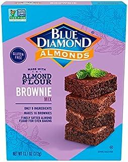 Blue Diamond, Gluten-Free Almond Flour Baking Mix, Chocolate Brownie, 13.1 ounce box