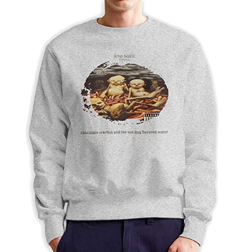 MYHL Men's Limp Bizkit Chocolate Starfish Fashionable Casual Style Crew Neck Cotton Sweatshirt Hoodie