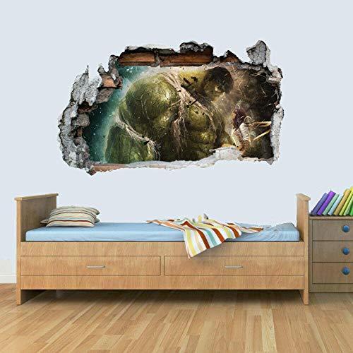 Wandtattoo 3d window view removable wall art sticker vinyl decal master wallpaper kids room