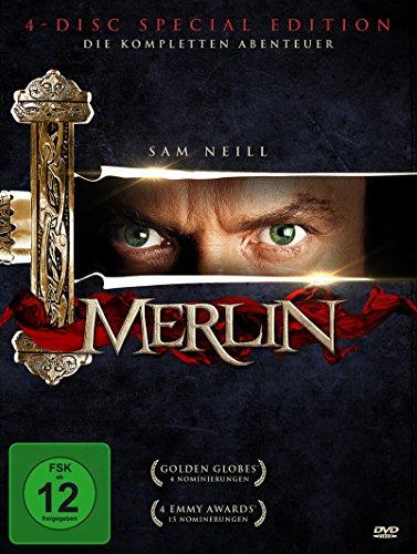 Merlin - Die komplette Serie [4 DVDs]