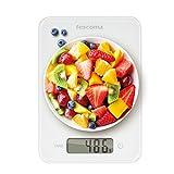 Tescoma 634512 Accura Bilancia Digitale, Bianco, 5 kg, 1 Pezzo