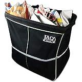 JACO TrashPro Car Trash Can - Premium 2-in-1 Leakproof Litter and Garbage Bag plus Organizer