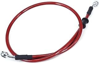 JFG RACING Red 500mm-2000mm Hydraulic Brake Radiator Oil Hose Line Pipe For Motorcycle Pit Dirt Bike Enduro Motocross Street Bikes(500mm)
