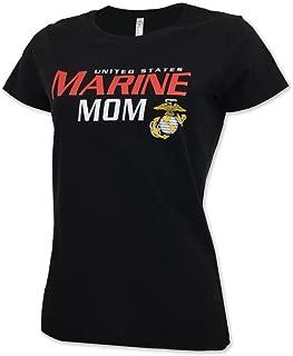 Ladies US Marine Mom T-Shirt