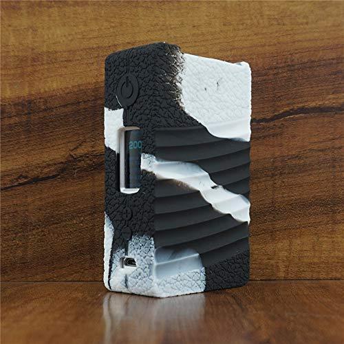 ModShield for Geek Vape NOVA 200W TC Silicone Case ByJojo GeekVape Protective Cover (White/Black)