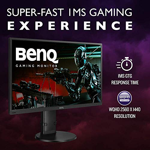 BenQ GL2706PQ 27 inch 1440p Gaming Monitor | 1 ms (GtG) response time