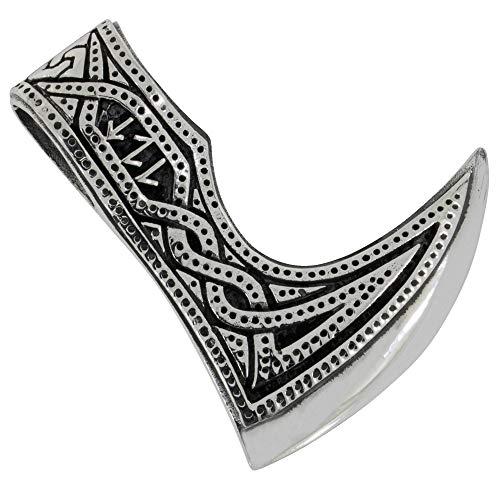 AFP Anhänger Runen Wikinger Axt 925 Sterling Silber AS-660
