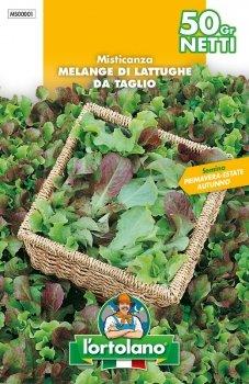 SEMENTI DI ORTAGGI DI QUALITA' IN BUSTE TERMOSALDATE DA 50 GRAMMI (MISTICANZA MELANGE DI LATTUGHE DA...