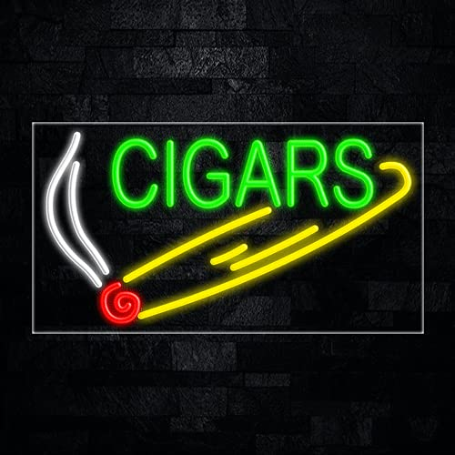 Cigars led neon Sign #30419 Made in USA