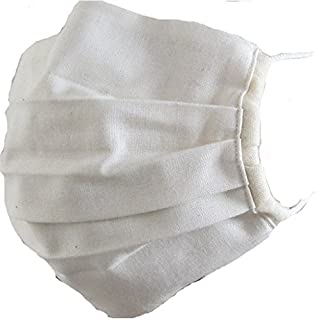 洗えるオーガニックコットンで作った立体タイプのマスク SIGN サイン NOC GREEN認定商品 (ナチュラル)