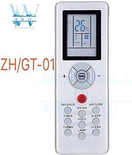 Calvas AWO - Mando a distancia para aire acondicionado y control remoto para Chigo Mirage Mitsubishi ZH/GT-01 ZH GT 01