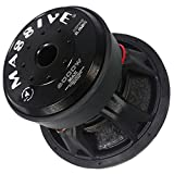 Car Subwoofer by Massive Audio HippoXL152R - SPL Extreme Bass Woofer - 15 Inch Car Audio 6,000 Watt HippoXL Series Competition Subwoofer, Dual 2 Ohm, 4 Inch Voice Coil. Sold Individually