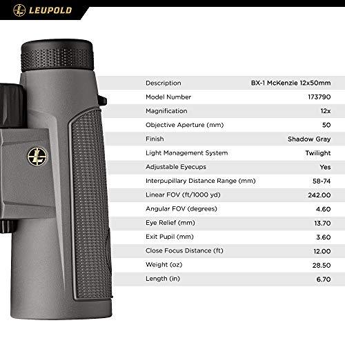 Product Image 1: Leupold BX-1 McKenzie Binocular, 12x50mm (173790)