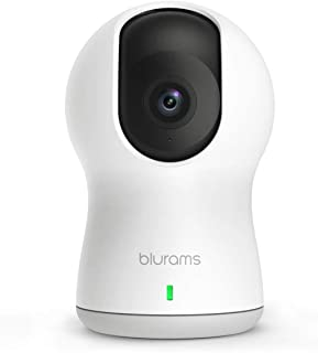 blurams Dome Pro, 1080p Security Camera with Siren | PTZ Surveillance System with Facial Recognition, Human/Sound Detectio...