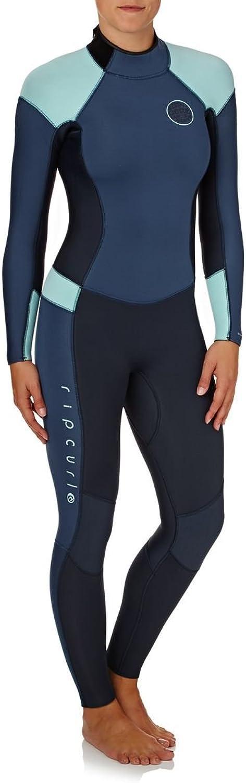 Rip Curl 53mm 2018 Womens Dawn Patrol Back Zip Wetsuit UK 10 Reg Dark blueee