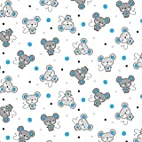 Pingianer 11,99€/m Maus 100% Baumwolle Baumwollstoff