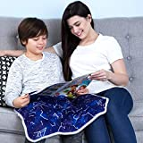 """💮Dimension: 20"""" x 23"""". 💮Weight: 5 pounds 💮 Premium Quality Material: Our weighted lap pads are made with soft minky material on both sides. It is easy to clean and machine-washable. 💮 Improve Focus: This lap pad is perfect for kids who have sensory i..."""