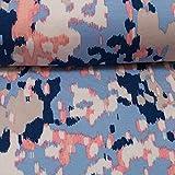 Swafing Selina Viskose Jersey blau 50 x 160 cm