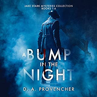 A Bump in the Night audiobook cover art