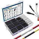 electrapick-300 pezzi - Kit guaina termorestringente, riparazione cavi con adesivo,rapporto di...