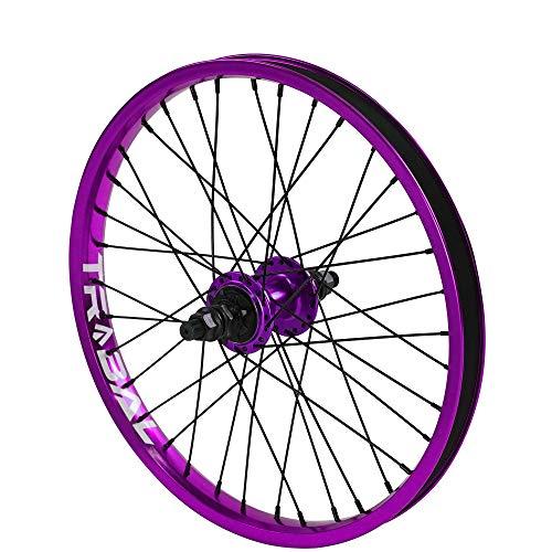 Tribal BMX Hinterrad, 9 t Zahnrad, 45,7 cm, violett