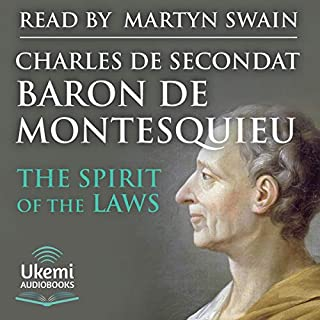 The Spirit of the Laws cover art