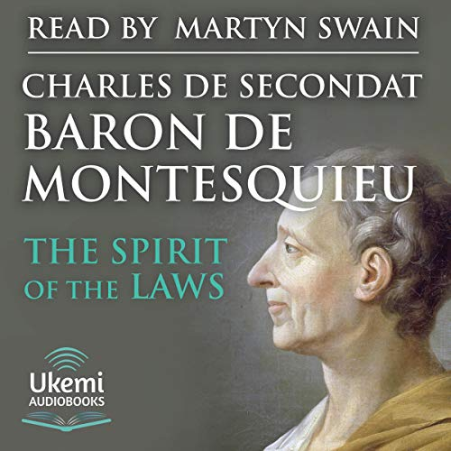 The Spirit of the Laws audiobook cover art