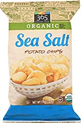 365 Everyday Value, Organic Potato Chips, Sea Salt, 5 oz